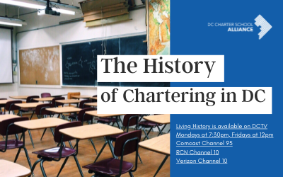 DC Charter School Alliance Announces New Series on History of Chartering in Washington, DC to Kick off National Charter Schools Week