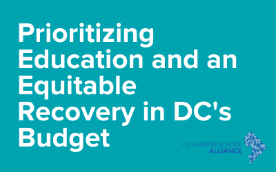 Prioritizing Education and An Equitable Recovery in DC's Budget